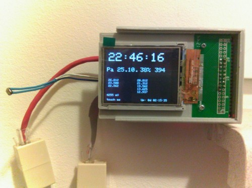 Vnitřek termostatu