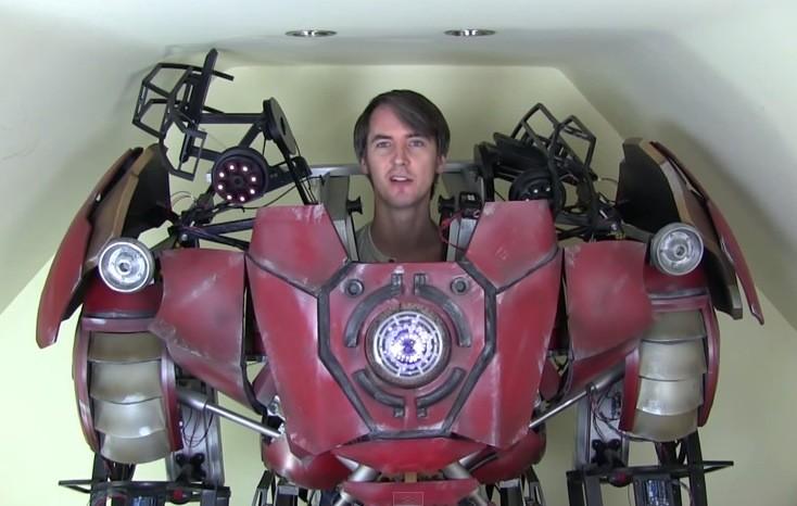 Oblek pro Iron Mana