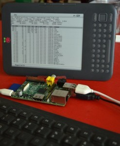 Kindleberry PI - Kindle a Raspberry PI