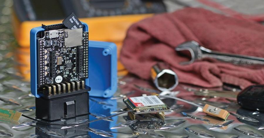 Arduino deska pro ovládání automobilu