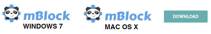 Odkaz pro stažení prostředí mBlock