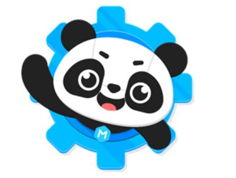 Panda z prostředí mBlock 5