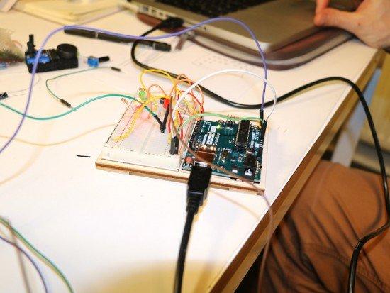 Elektronika Moodbox - Arduino hudebního projektu