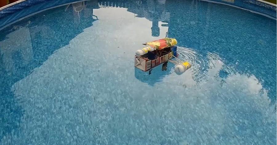 DIY Arduino loďka UNO WiFi