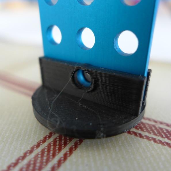 Nožička pro XY Plotter vyrobená 3D tiskem