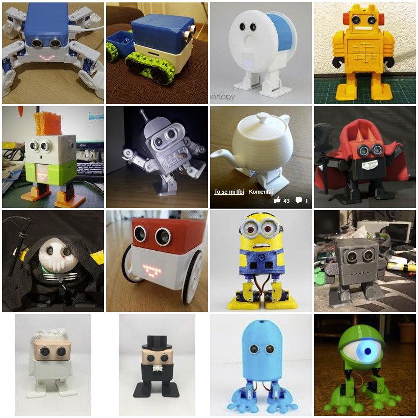 Otto DIY Robot Remix Challenge projekty