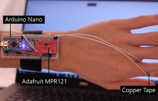 Elektronika pro arduino elektronické tetování