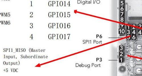 pcduino-v2-SPI-pins