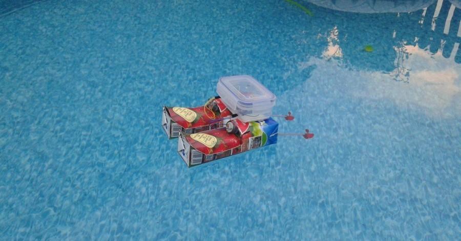 Arduino projekt - Arduino UNO WiFi lodička