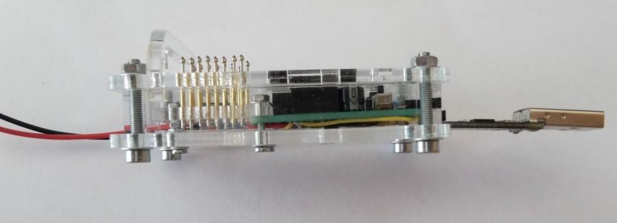 ESP programátor - připojení USB-Serial převodníku