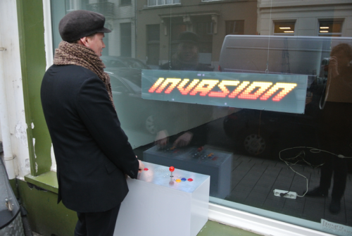 Arduino hra Invasion