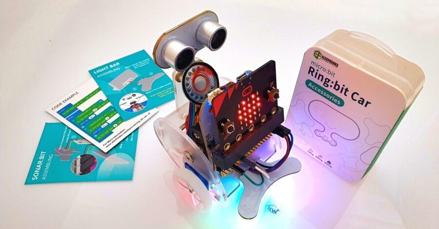 Praktické využitie robota Ringbit V2 s mikropočítačom microbit