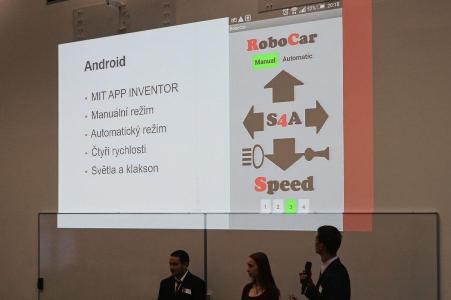 Příklad ovládací aplikace pro Android
