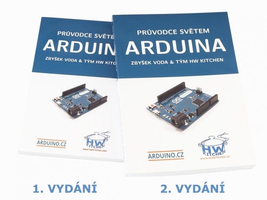 Průvodce světem Arduina 2. vydání - rozdíl