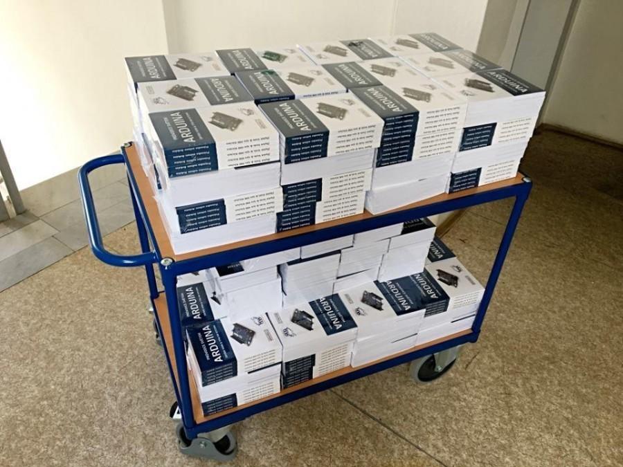 Průvodce světem Arduina 2. vydání na vozíku