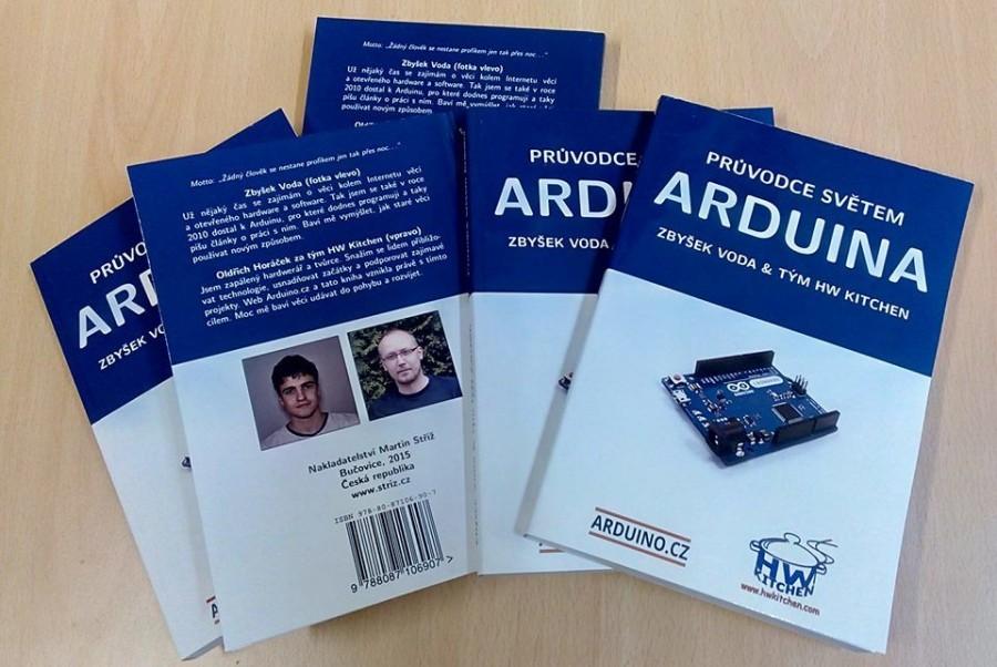 Průvodce světem Arduina první kusy
