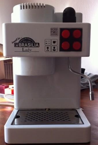 Kávovar před opravou
