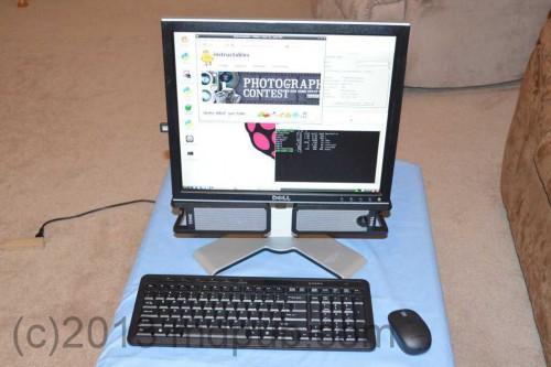 Počítač z Raspberry PI
