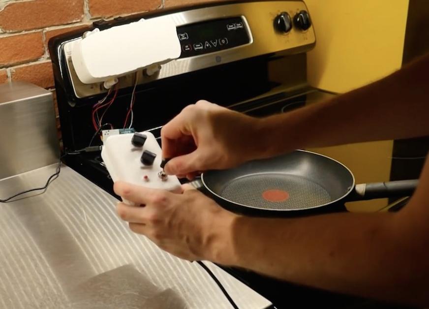 Arduino RetroFab ovládání sporáku