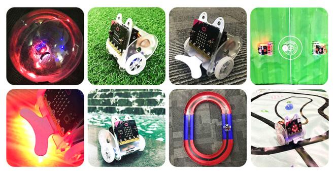 Ringbit - malý robot co vás překvapí