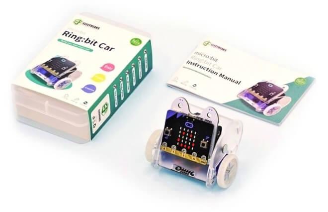 Ringbit V2 - Micro:bit výukový robot pro děti