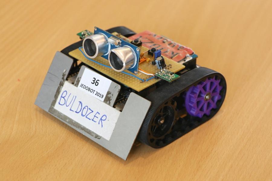 Arduino robot Buldozer!