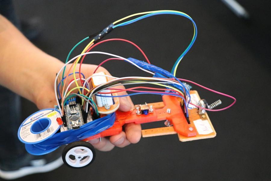 Detail DIY Arduino vozítka