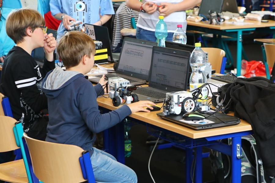 Příprava na soutěž robotů