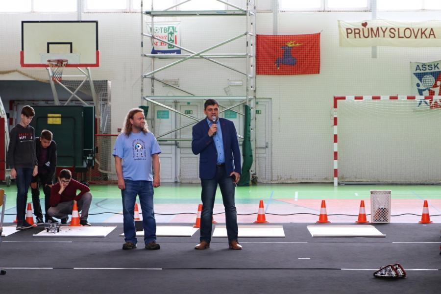 Zahájení soutěže JedoBot 2019