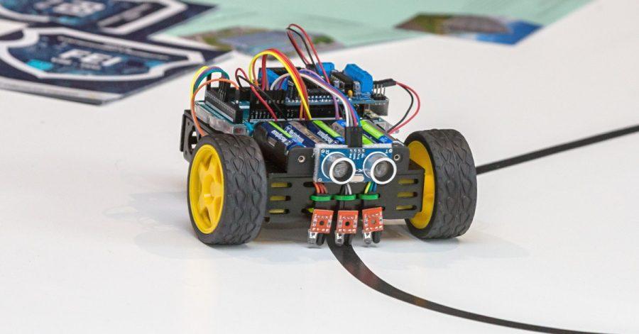 Soutěž Arduino robotů Student4Automotive
