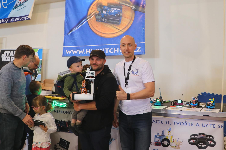Stanislav Kubín a jeho Arduino robotický tank