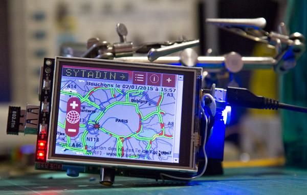 Raspberry PI monitor dopravy
