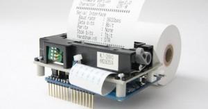 Arduino termotiskárna
