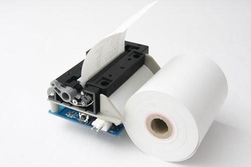 Arduino shield s termotiskárnou