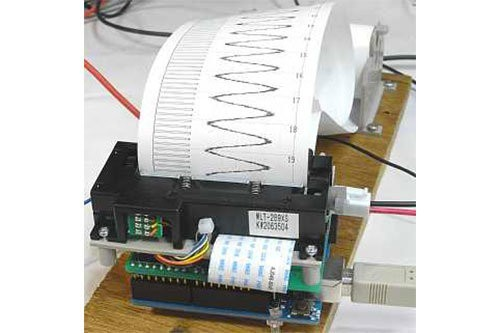 Tiskárna grafů s Arduinem a Termotiskárnou