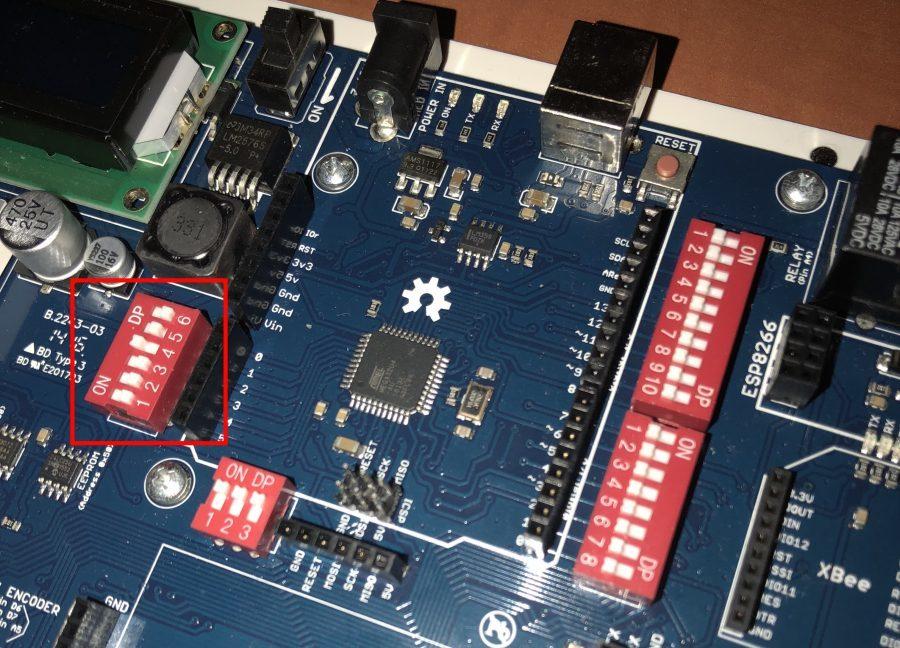 Tinylab Fotorezistor - Přepínač u A2