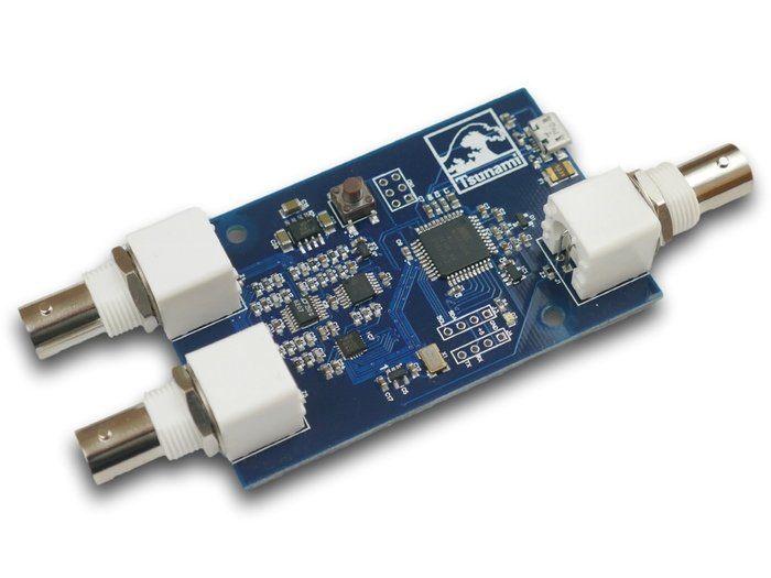 Tsunami analogové signály Arduino