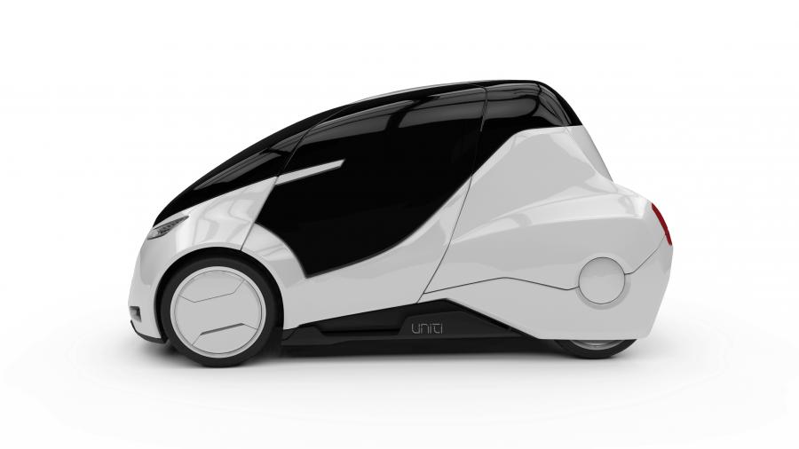 Elektromobil startupu Uniti