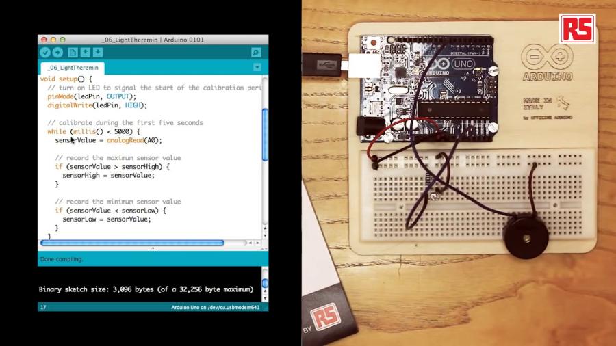 Úvodní foto k videO tutoriálu pro tvorbu Arduino hudebního nástroje