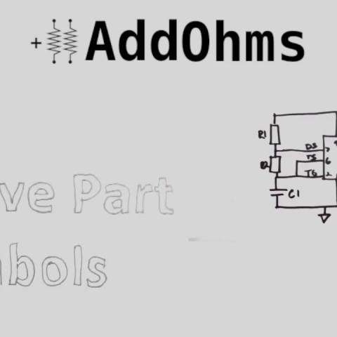 Úvodní fotografie k video tutoriálu o aktivních prvcích ve schématech elektrických obvodů