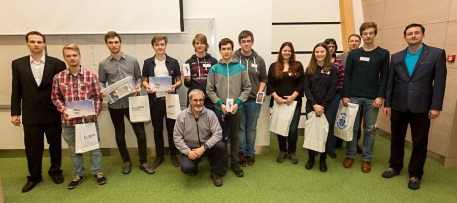 Výherci soutěže Student4Automotive