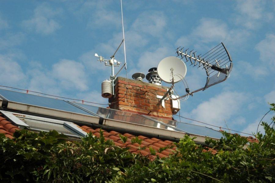 Arduino meteostanice WeatherDuino Pro 2 - Střešní instalace