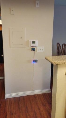 Výsledná podoba chytrého termostatu