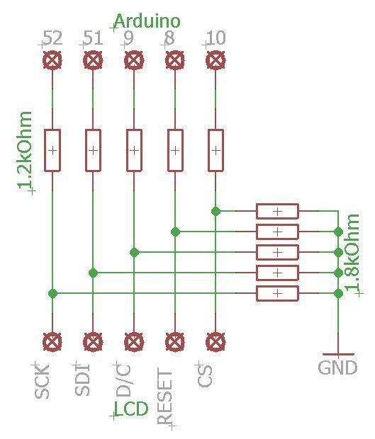 Zapojení LCD