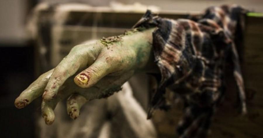 Zombie ruka